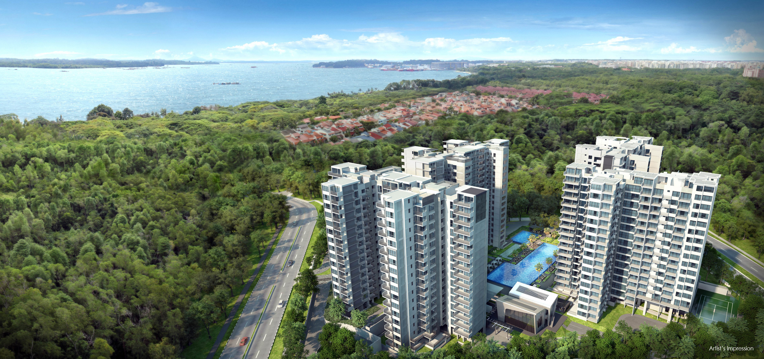 Vue 8 Residences Aerial View