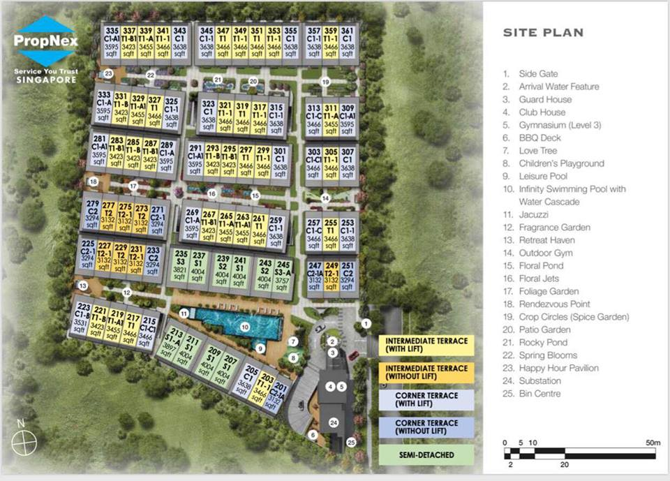 Belgravia Green Site Plan