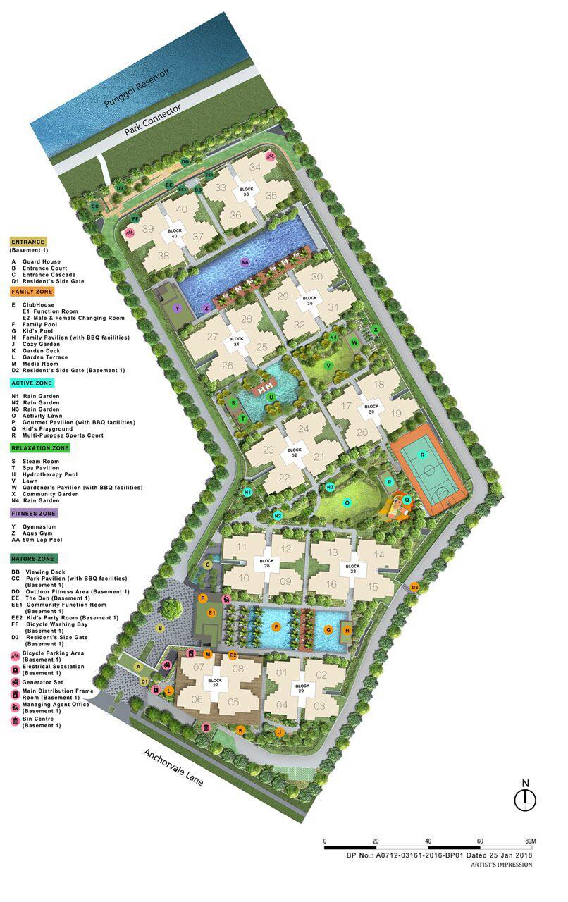 Rivercove Site Plan