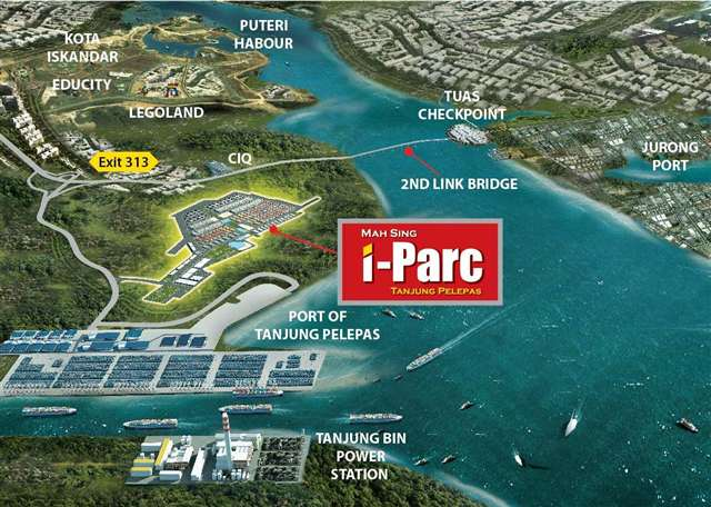 iPARC map